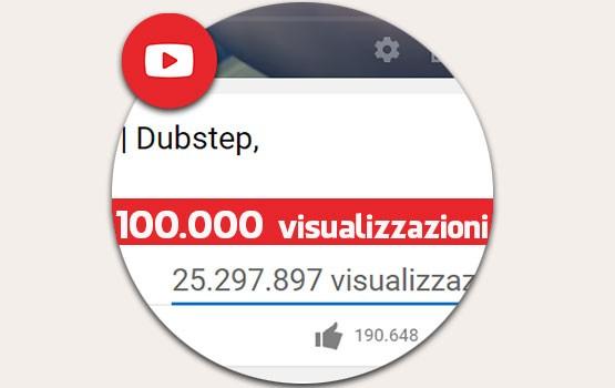 100000 visualizzazioni YouTube: ecco i segreti per raggiungerli!