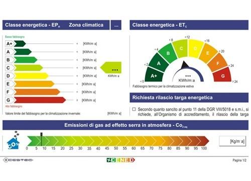 La certificazione energetica - Notizie e Informazioni - VTex