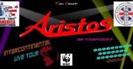 Gli Aristos negli USA con l'Intercontinental Live Tour partito da New York, chiusura in Inghilterra, a Londra